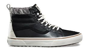 vans sk8 hi mte black leather