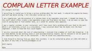 How To Wright A Letter Of Complaint How To Write A Good Personal