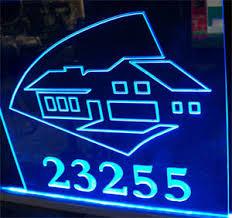 led address sign27