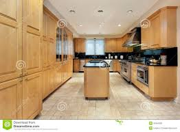Kitchens With Black Granite Kitchen With Black Granite Counters Stock Image Image 13672331