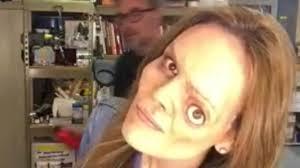 oscar winning makeup artist s special effects makeup timelapse