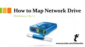windows  tutorial  how to map network drives  youtube
