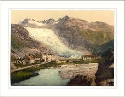 Glaciar do Ródano