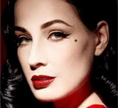 flawless dita von teese has just launched her own make up collection and knows just