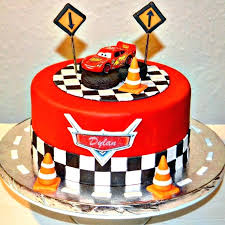 Disney Cars Birthday Cakes Pictures Car Cake Fast And Delicious