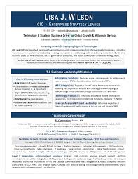 It Director Sample Resume Cio Resume Writing By Laura Smith Proulx