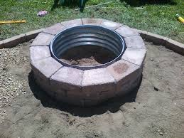 inspirational fire pit rings galvanized fire pit ring 48