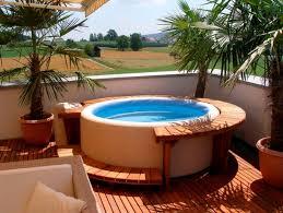 Outdoor Jacuzzi Outdoor Backyard Deck Designs With Hot Tub Ideas Corner Hot