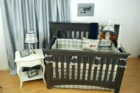 plaid crib sheet plaid baby bedding vintage plaid and airplane crib bedding transportation theme nursery crib plaid crib