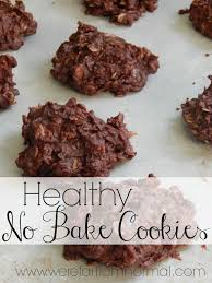 barbellsandbaking sugar free no bake cookie recipe 6 with healthy chocolate oatmeal cookies