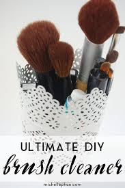 my ultimate diy brush cleaner