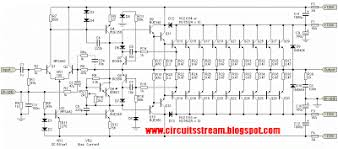 build a 3000w stereo power amplifier circuit diagram electronic 3000w stereo power amplifier circuit diagram
