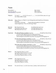 Mac Word Resume Template Amazing Word Resume Template Mac Unique Resume Unique Resume Templates For