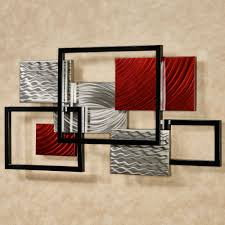 Framed Array Indoor Outdoor Abstract Metal Wall Sculpture Intended For Contemporary  Metal Wall Art Sculpture (
