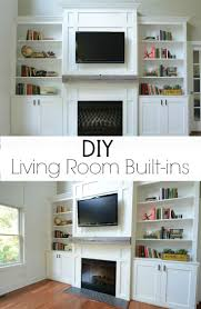 Living Room Built In 17 Best Images About Built In Bookcases Around Fireplaces On