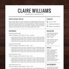 Google Docs Resume Template Free Free Sample 24 Best Resume Design