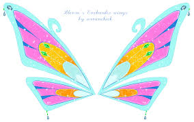 The coolest fairy… from earth! Bloom S Enchantix Wings Flugel