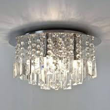 phenomenal flush fitting bathroom chandelier light french empire crystal flush chandelier lighting