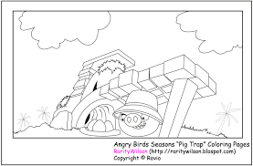 Small Picture Angry Birds Season Coloring Pages Minister Coloring
