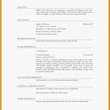 Resume Sample Download Free New Sample Resume Format Free Download