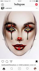 Facechart In 2019 Halloween Makeup Makeup Face Charts