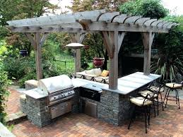 build outdoor barbecue homemade outdoor barbecue outdoor designs for how