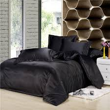 image of silk bedding sheets design