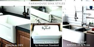 farmhouse sink kohler