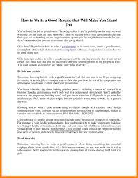 10 Make A Good Resume Informal Letters