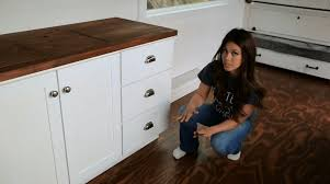how to make kitchen cabinets with tiny house kitchen tour ana white tiny house build episode 14 you
