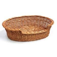 wicker dog bed. Interesting Bed Prestige Wicker Dog Bed Basket 85 Cm Large Intended S