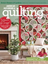 American Patchwork & Quilting December 2017 | AllPeopleQuilt.com & December 2017 Adamdwight.com