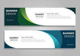 banner design template corporate banner design template download free vector art stock