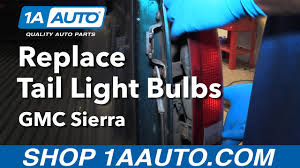how to replace tail light bulbs 88 98 gmc sierra how to replace tail light bulbs 88 98 gmc sierra