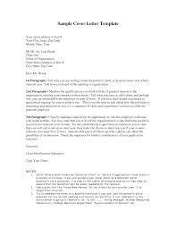 cover letter template cover letter