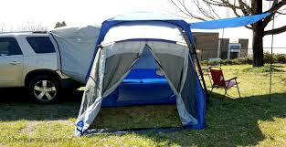 Vehicle Camping With The Sportz SUV Tent Model 84000