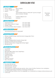 Design Templates Curriculum Vitae Download Best Template Design