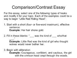 writing portfolio mr butner writing portfolio due date 27 comparison contrast