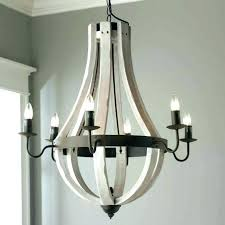 creative co op wood and metal chandelier medium size of chandeliers with beads me