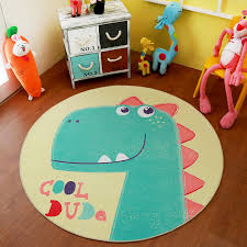 infant shining baby play mat puzzle children s room cartoon round carpet