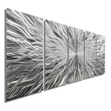 large silver metal wall art sculpture multi panel abstract wall decor by jon  on multi panel wall art uk with large silver metal wall art sculpture multi panel abstract wall