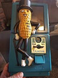 Mr Peanut Vending Machine Classy VINTAGE 48S MR PEANUT PLANTERS GUMBALL CANDY NUT VENDING