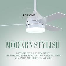 3 blade white modern dc ceiling fans with lights and remote