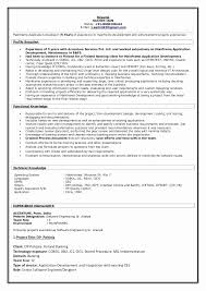 Accenture Analyst Sample Resume Stunning It Senior Software Analyst Sample Resume Elegant Sample Resume For