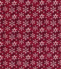 Christmas Cotton Fabric Snowflake Texture Burgundy Joann