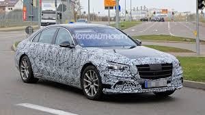 Motor Design Class 2021 Mercedes Benz S Class Spy Shots And Video