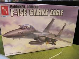 Amt 8830 F 15e Strike Eagle Plastic Model Kit Lnib 1 72 Scale 1989