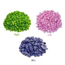 Akvaryum İçin Renkli Dekoratif Çakıl Taşı 1 Kg Fiyatları ve Özellikleri