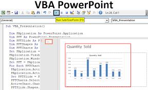 Microsoft Graph Chart Vba Vba Powerpoint Create Powerpoint Presentation From Excel