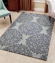 rugs aubrey fl teal new zealand wool rug 3 x 5